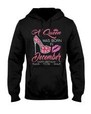 DECEMBER GIRL - L Hooded Sweatshirt thumbnail