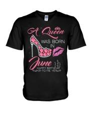 JUNE QUEEN V-Neck T-Shirt thumbnail
