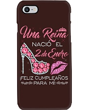2 DE ENERO Phone Case tile