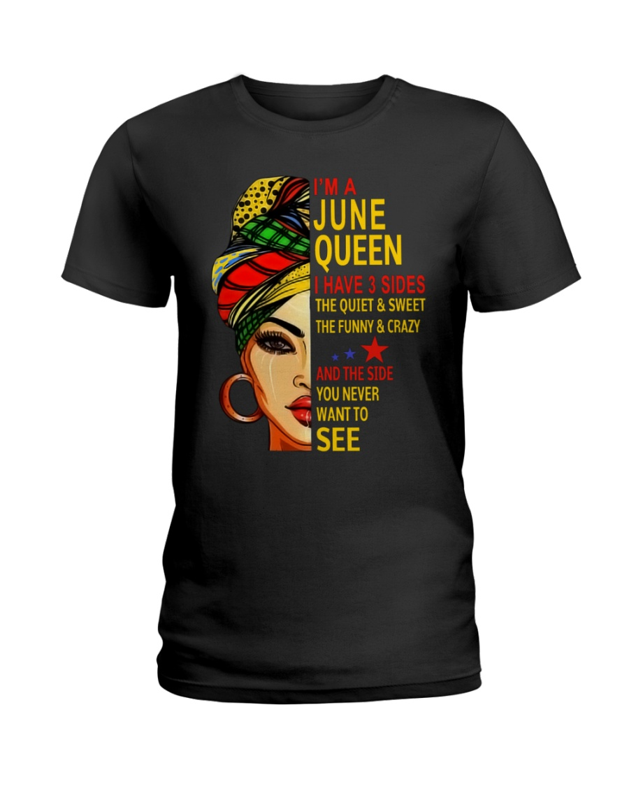 JUNE QUEEN Ladies T-Shirt