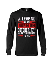 OCTOBER LEGEND 17th  Long Sleeve Tee thumbnail