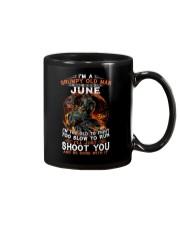 Grumpy old man June tee Cool T shirts for Men Mug thumbnail