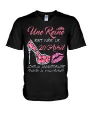 20 AVRIL V-Neck T-Shirt thumbnail