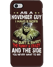 H- NOVEMBER GUY Phone Case thumbnail