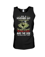 H- NOVEMBER GUY Unisex Tank thumbnail