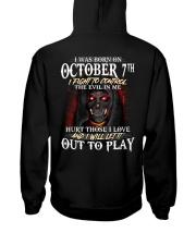 OCTOBER 7th Hooded Sweatshirt thumbnail