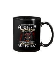 OCTOBER 7th Mug thumbnail