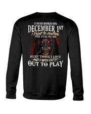 DECEMBER  1ST Crewneck Sweatshirt thumbnail
