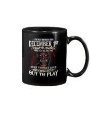 DECEMBER  1ST Mug thumbnail
