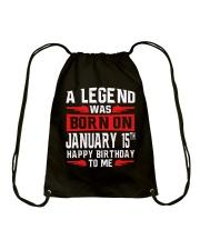 JANUARY LEGEND Drawstring Bag thumbnail