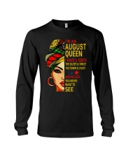 AUGUST QUEEN - L Long Sleeve Tee tile