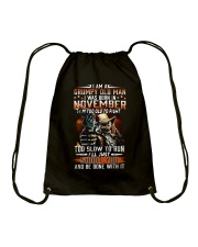 NOVEMBER MAN Drawstring Bag thumbnail