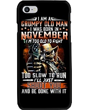 NOVEMBER MAN Phone Case thumbnail