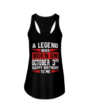 OCTOBER LEGEND 3rd Ladies Flowy Tank tile