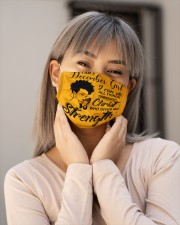 DECEMBER GIRL Cloth face mask aos-face-mask-lifestyle-17