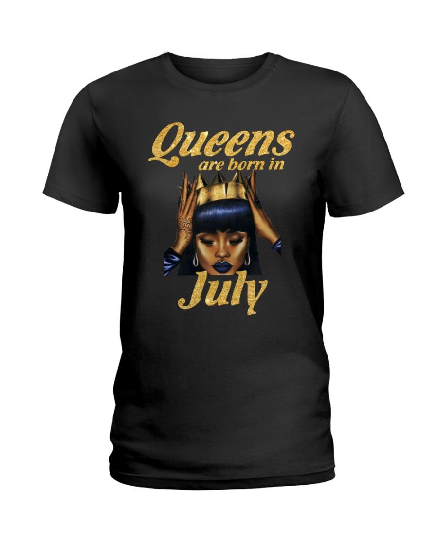 JULY QUEEN LHA Ladies T-Shirt