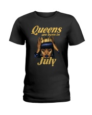 JULY QUEEN LHA Ladies T-Shirt front