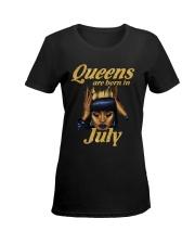 JULY QUEEN LHA Ladies T-Shirt women-premium-crewneck-shirt-front