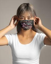 OCTOBER GIRL Cloth face mask aos-face-mask-lifestyle-16