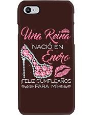 UNA REINA ENERO Phone Case thumbnail