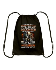DECEMBER MAN Drawstring Bag thumbnail