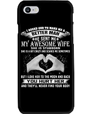 Printed Graphic Tee Shirt Awesome Wife Phone Case thumbnail