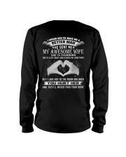 Printed Graphic Tee Shirt Awesome Wife Long Sleeve Tee thumbnail