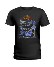 REINA DE MARZO Ladies T-Shirt front