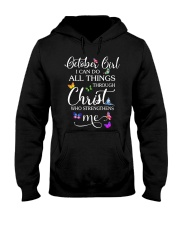 OCTOBER GIRL - L Hooded Sweatshirt thumbnail