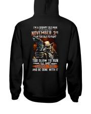 November 3rd Hooded Sweatshirt thumbnail