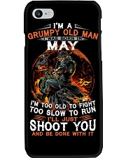Grumpy old man May tee Cool T shirts for Men Phone Case thumbnail