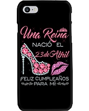 Camisetas Sublimadas para Mujer Reinas de Abril Phone Case thumbnail