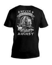 GRUMPY NEVER M8 V-Neck T-Shirt thumbnail