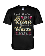 REINA DE MARZO V-Neck T-Shirt thumbnail