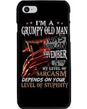GRUMPY OLD MAN 5 Phone Case thumbnail