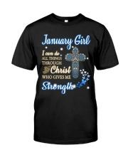 H - January Girl Classic T-Shirt thumbnail