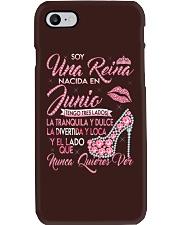 Camisetas Sublimadas Mujer Para Reinas De Febrero Phone Case thumbnail