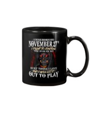 November 27th Mug thumbnail