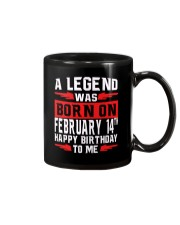 14th February legend Mug thumbnail