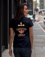 Believe Caregiver Back Dark Ladies T-Shirt lifestyle-women-crewneck-back-1