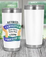 Retired Caregiver Tumbler Light 20oz Tumbler aos-20oz-tumbler-lifestyle-front-59
