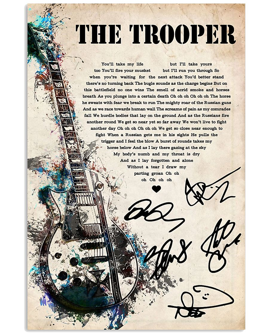The Trooper 24x36 Poster