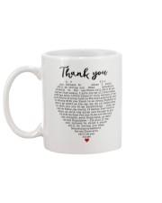 Thank you Mug back