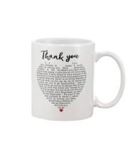 Thank you Mug front