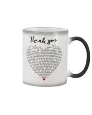 Thank you Color Changing Mug thumbnail