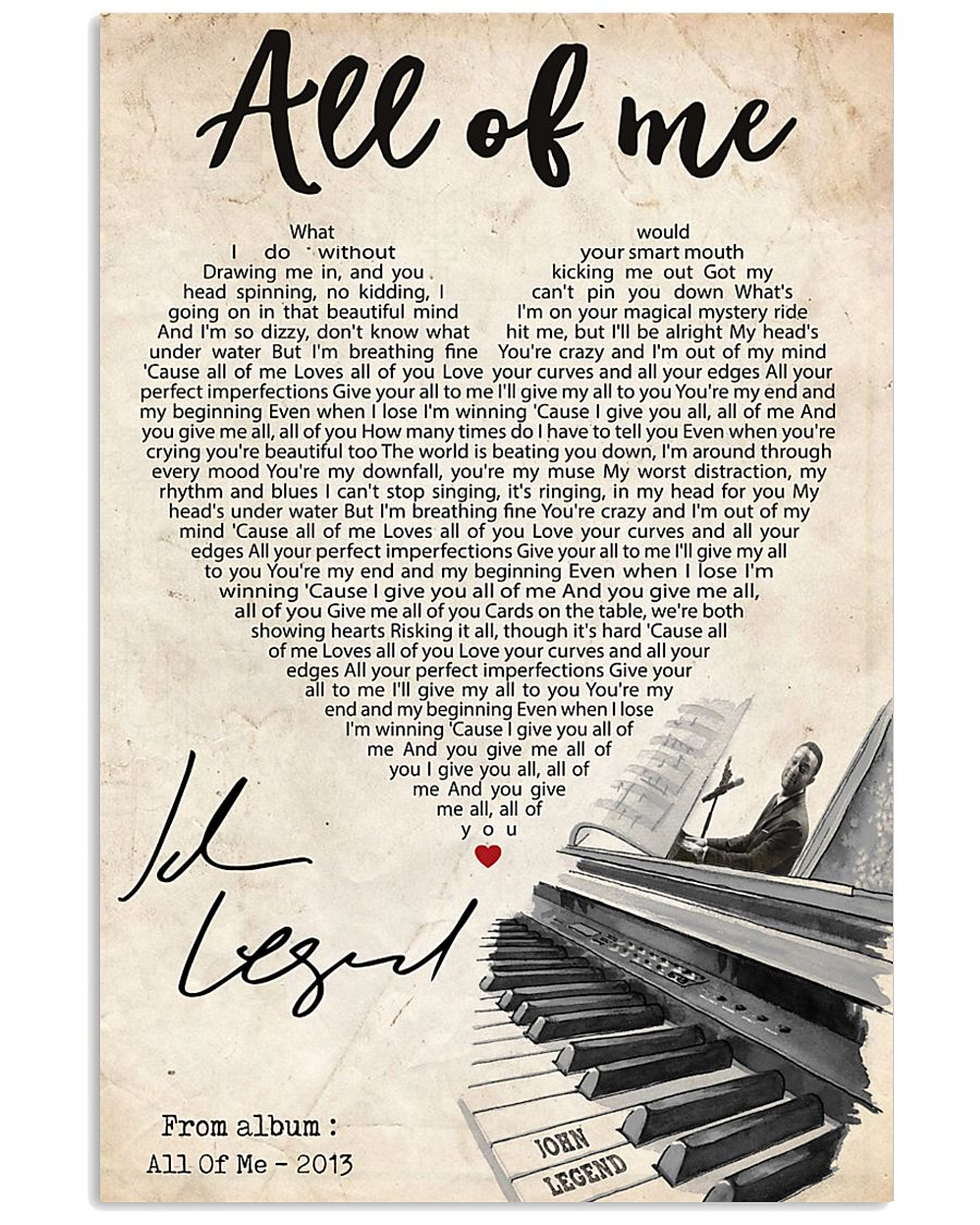 All of me 24x36 Poster