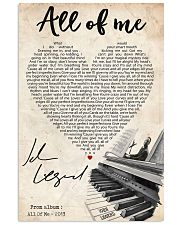 All of me 24x36 Poster front