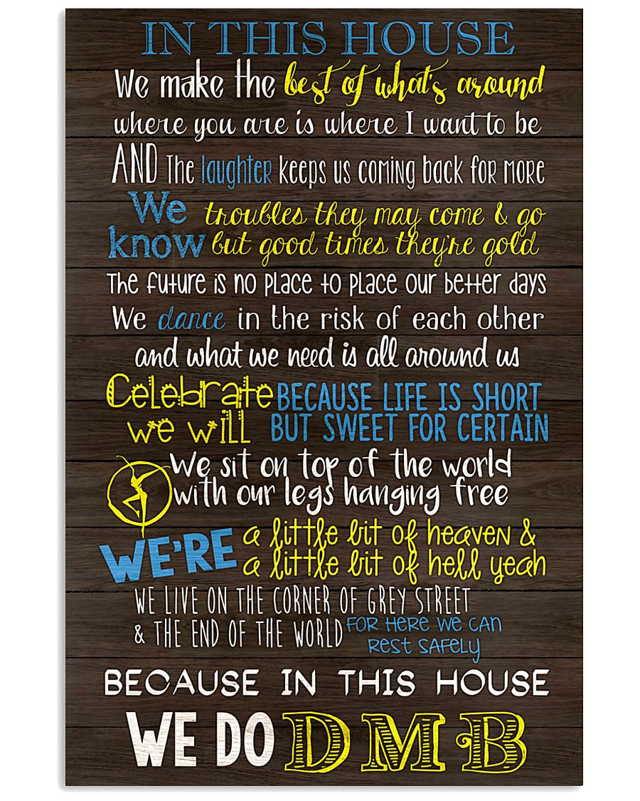 In This House 24x36 Poster