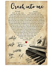 Crash into me 24x36 Poster front