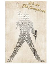 We Are The Champions 24x36 Poster front